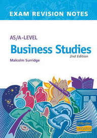 AS/A-level Business Studies by Malcolm Surridge image