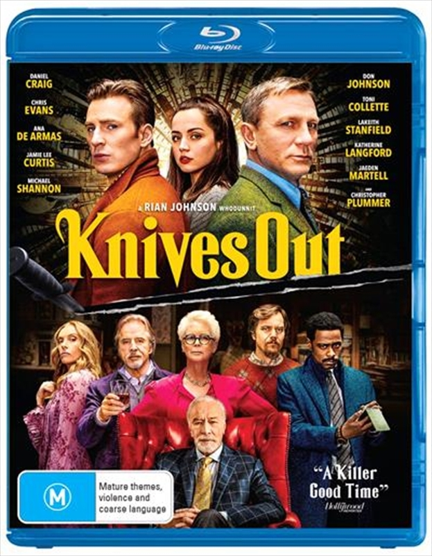 Knives Out on Blu-ray