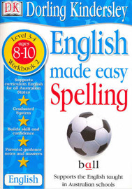 English Made Easy: Spelling: Level 3-4, Workbook 2 by Dorling Kindersley image