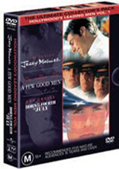 The Tom Cruise Set on DVD