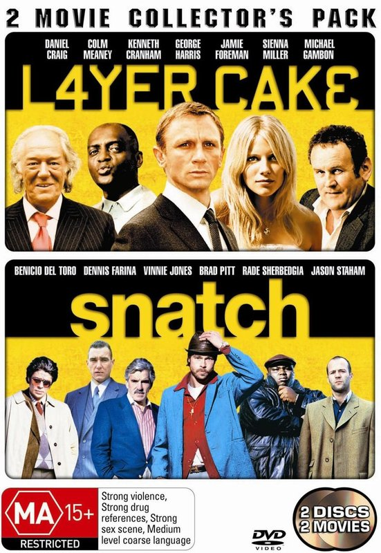 Layer Cake / Snatch - 2 Movie Collector's Pack (2 Disc Set) on DVD