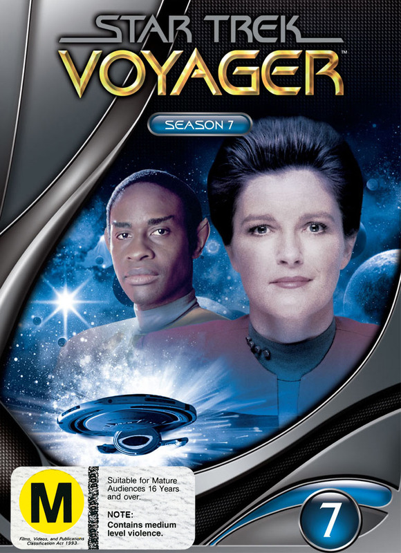 Star Trek: Voyager - Season 7 (New Packaging) on DVD