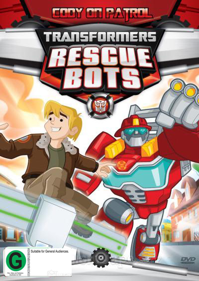 Transformers Rescue Bots: Cody on Patrol on DVD