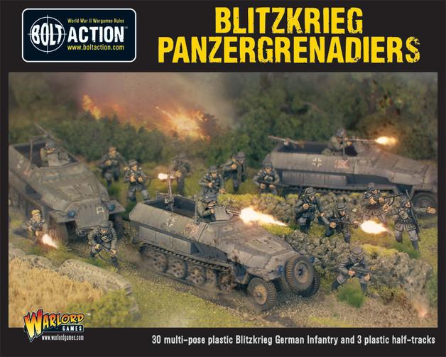 Blitzkreig Panzergrenadiers (30+3 Hanomags)