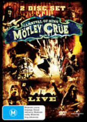 Motley Crue - Carnival of Sins on DVD
