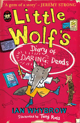 Little Wolf's Diary of Daring Deeds by Ian Whybrow image