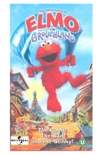 The Adventures of Elmo in Grouchland on DVD image