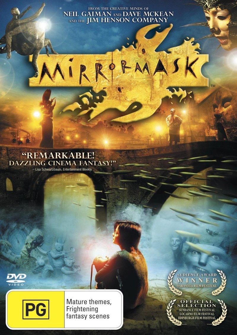 Mirrormask on DVD image