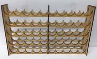 TTCombat: Mega Paint Rack - Vallejo (50 Pots)
