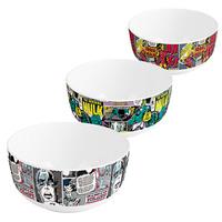 Marvel: Retro Print Bowls (Set of 3)