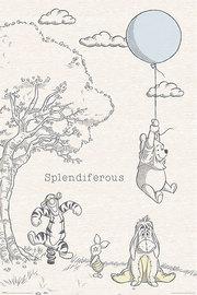 Winnie The Pooh Splendiferous Maxi Poster (885)