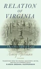 Relation of Virginia by Henry Spelman