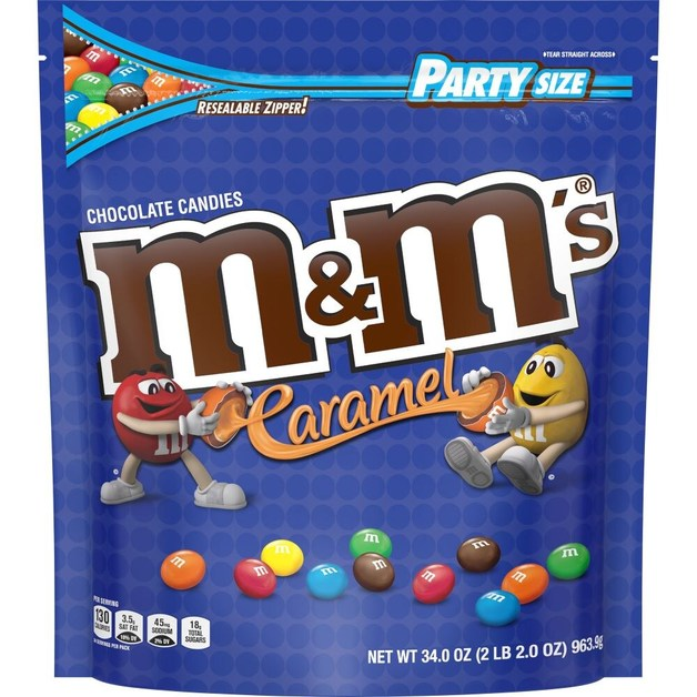 M&Ms Caramel 964g