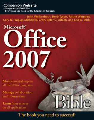 Office 2007 Bible by John Walkenbach image