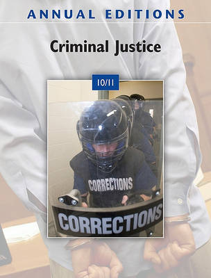 Annual Editions: Criminal Justice 10/11 by Joanne Naughton image
