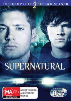 Supernatural - The Complete 2nd Season (6 Disc Set) DVD image
