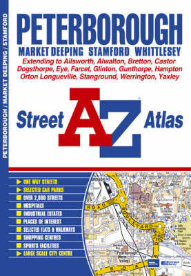 Peterborough Street Atlas by Great Britain