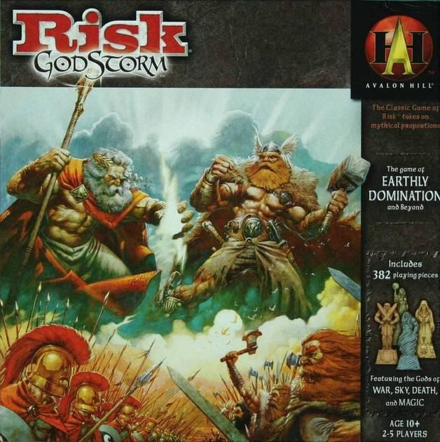 Risk Godstorm - Avalon Hill