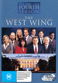 The West Wing - Complete Fourth Season (6 Disc Box Set) on DVD image