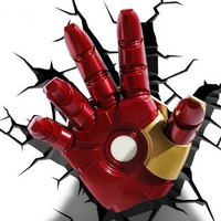 3D Deco Night Light - Iron Man's Hand
