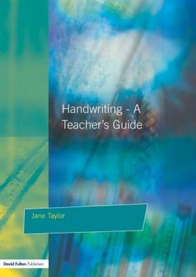 Handwriting by Jane Taylor