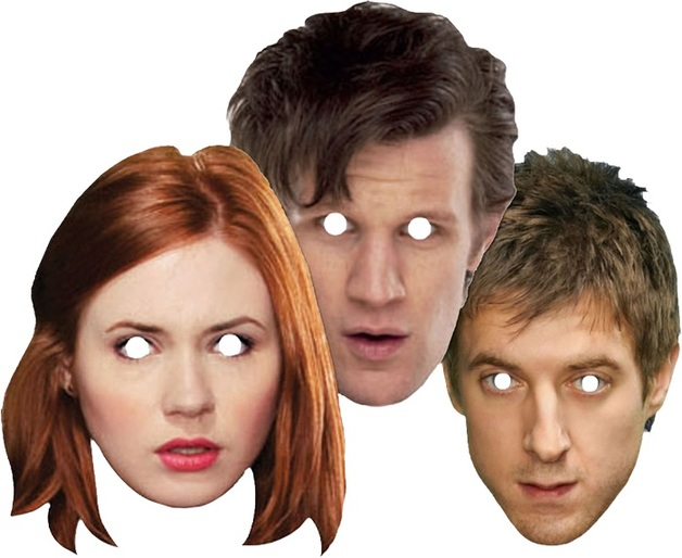 Doctor Who: Companions Face Mask (3-Pack)