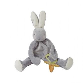 Bunnies By The Bay: Silly Buddy Grady Bunny - Grey (28 cm) image