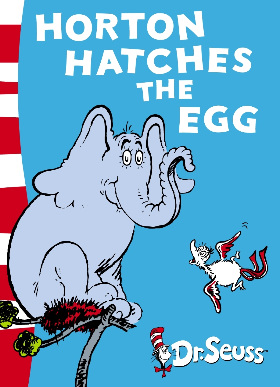 Horton Hatches the Egg: Yellow Back Book by Dr Seuss image