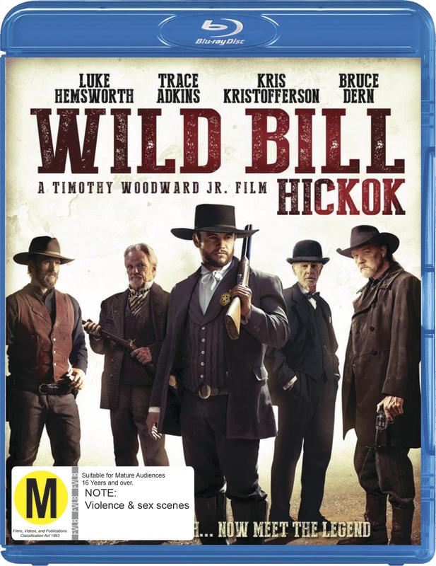 Wild Bill (Hickok) on Blu-ray