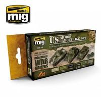 Ammo of Mig Jimenez Wargames Colours: US Armour Set