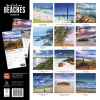 Australian Beaches 2019 Square Wall Calendar image