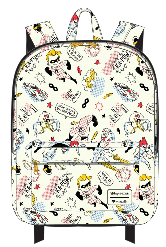 fa65642161b The Incredibles Kapow - AOP Backpack. Disney Designer Bag By Loungefly