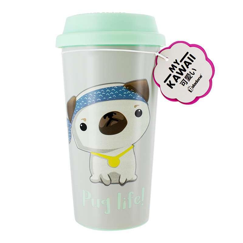 Pug Life Travel Mug image