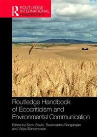 Routledge Handbook of Ecocriticism and Environmental Communication