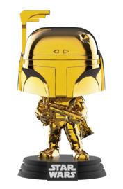 Star Wars - Boba Fett (Gold Chrome) Pop! Vinyl Figure