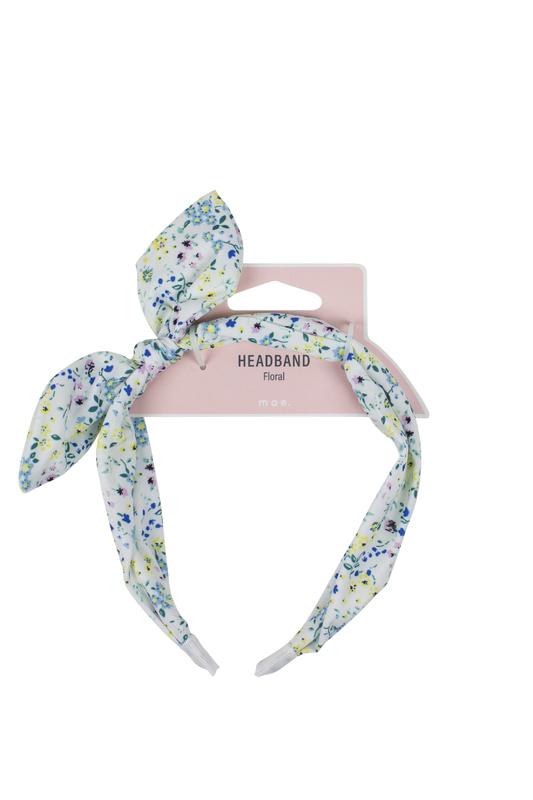 Mae: Headband Floral Print
