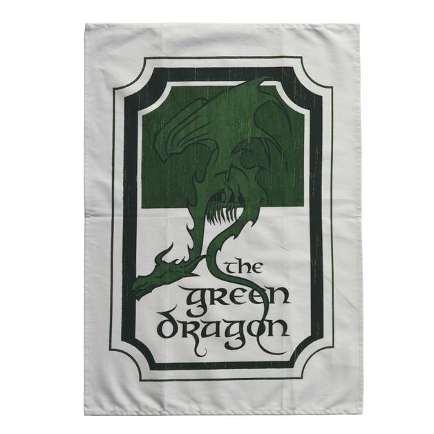 Lord Of The Rings: Green Dragon Inn Tea Towel