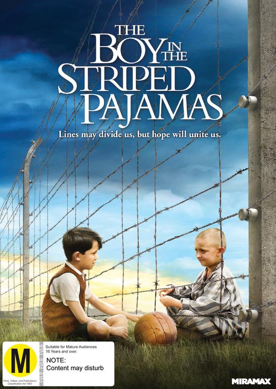 The Boy In The Striped Pyjamas on DVD