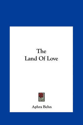 The Land of Love by Aphra Behn image
