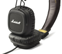 Marshall Major Pro Stereo Headphones (Black) image