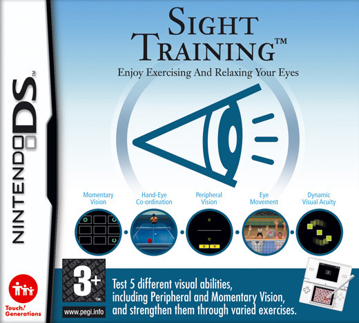 Sight Training: Enjoy Exercising & Relaxing your eyes for Nintendo DS