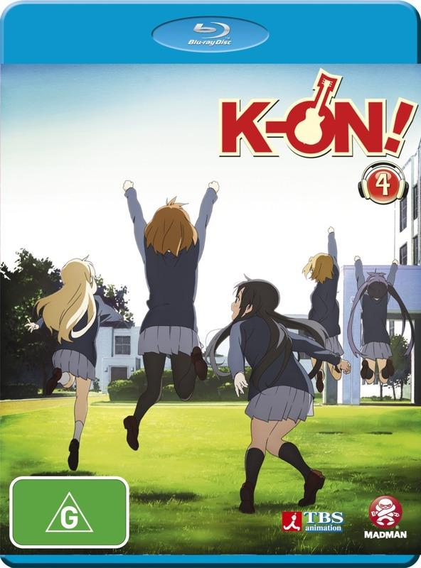 K-On! Volume 4 on Blu-ray