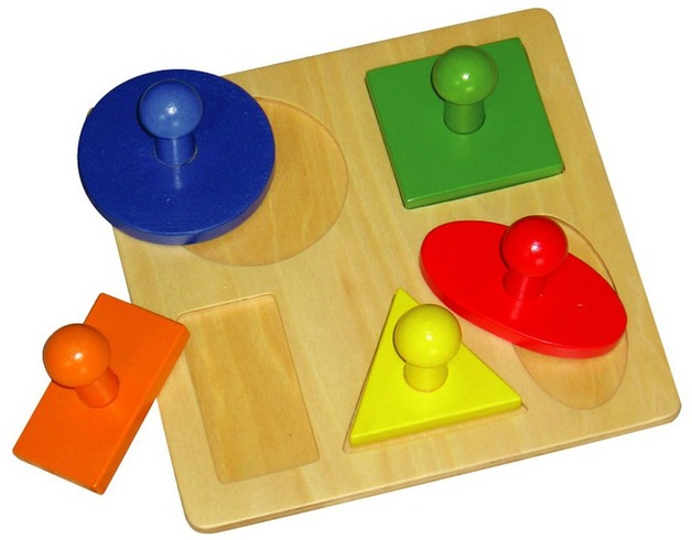 Fun Factory - 5 Shapes Puzzle
