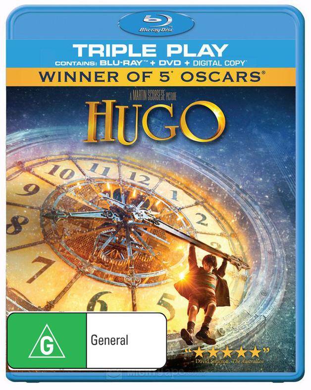 Hugo on DVD, Blu-ray, DC