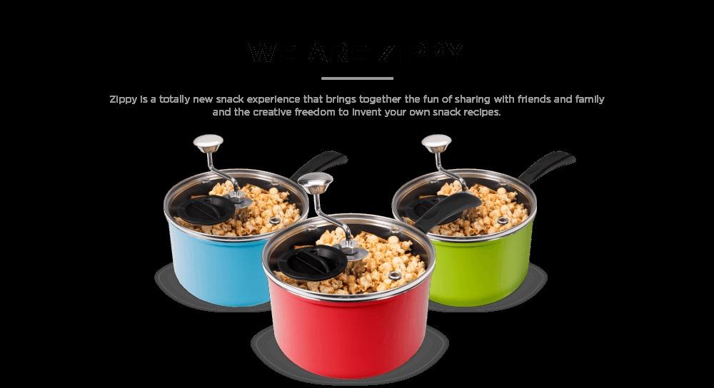 Zippy Snack & Popcorn Maker (Red) image
