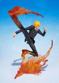 Figuarts ZERO - One Piece: Sanji (Diable Jambe) Figure