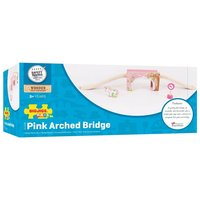 Bigjigs: Pink Arched Bridge