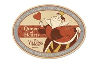 Disney Villains: Travel Luggage Sticker - Queen of Hearts #19