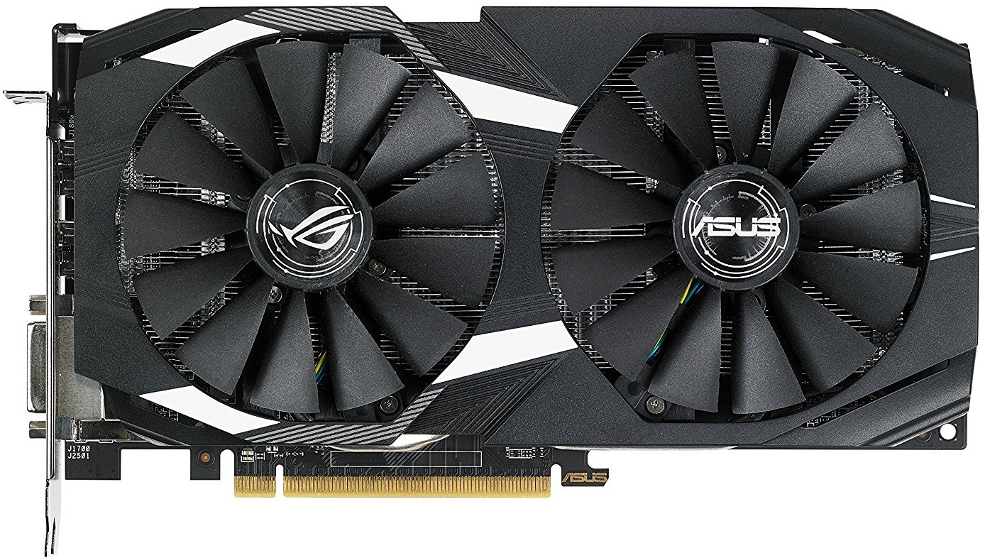 ASUS Radeon Dual Series RX 580 8GB Graphics Card image