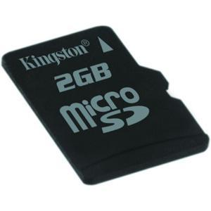 Kingston 2GB Micro-SD Flash Memory Card image